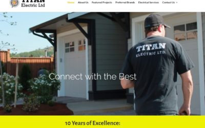 Websites for Trades in Victoria BC – TitanElectric.ca