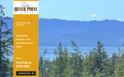 Real Estate Web Design for Victoria BC