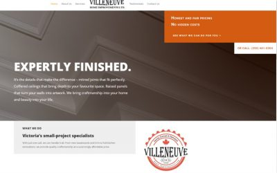 Websites for Tradespeople – VilleneuveHomeImprovements.ca