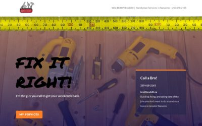 Websites for Handymen – BroDidIt.ca