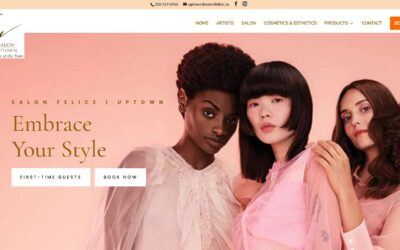 Websites for Hair Salons – SalonFelice.ca