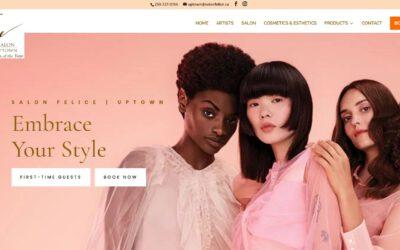 Websites for Hair Salons – SalonFelice.ca