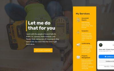 Small Business Spotlight Series: Grand Falls Handyman